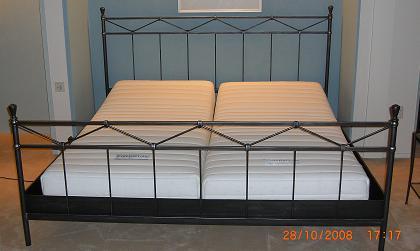 resistub-metalen bed