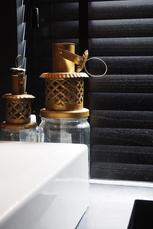 Inside - verduistering houten lamellen antraciet