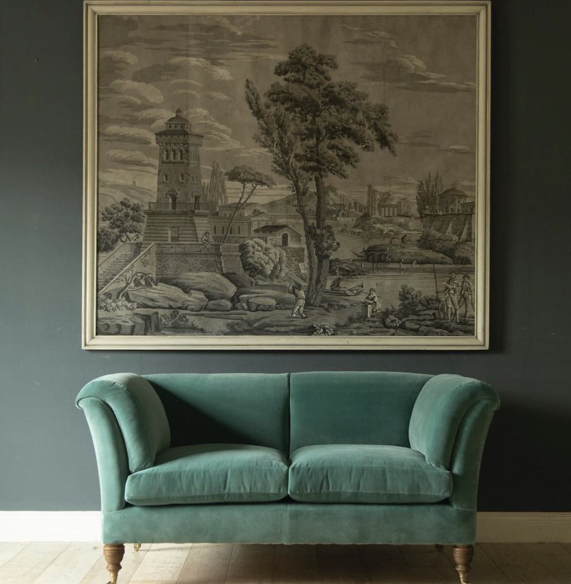 Mulberry Home - Velvet Aqua