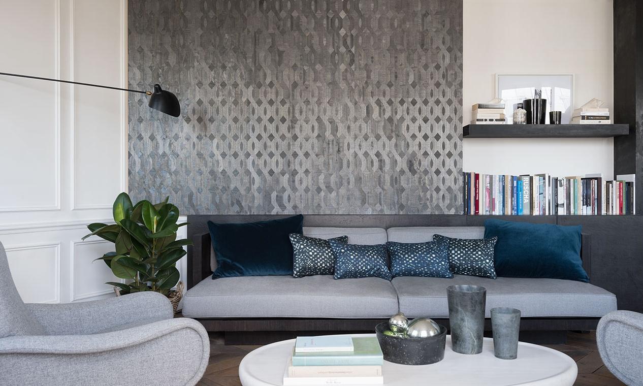 Elitis wallpaper Essences de bois