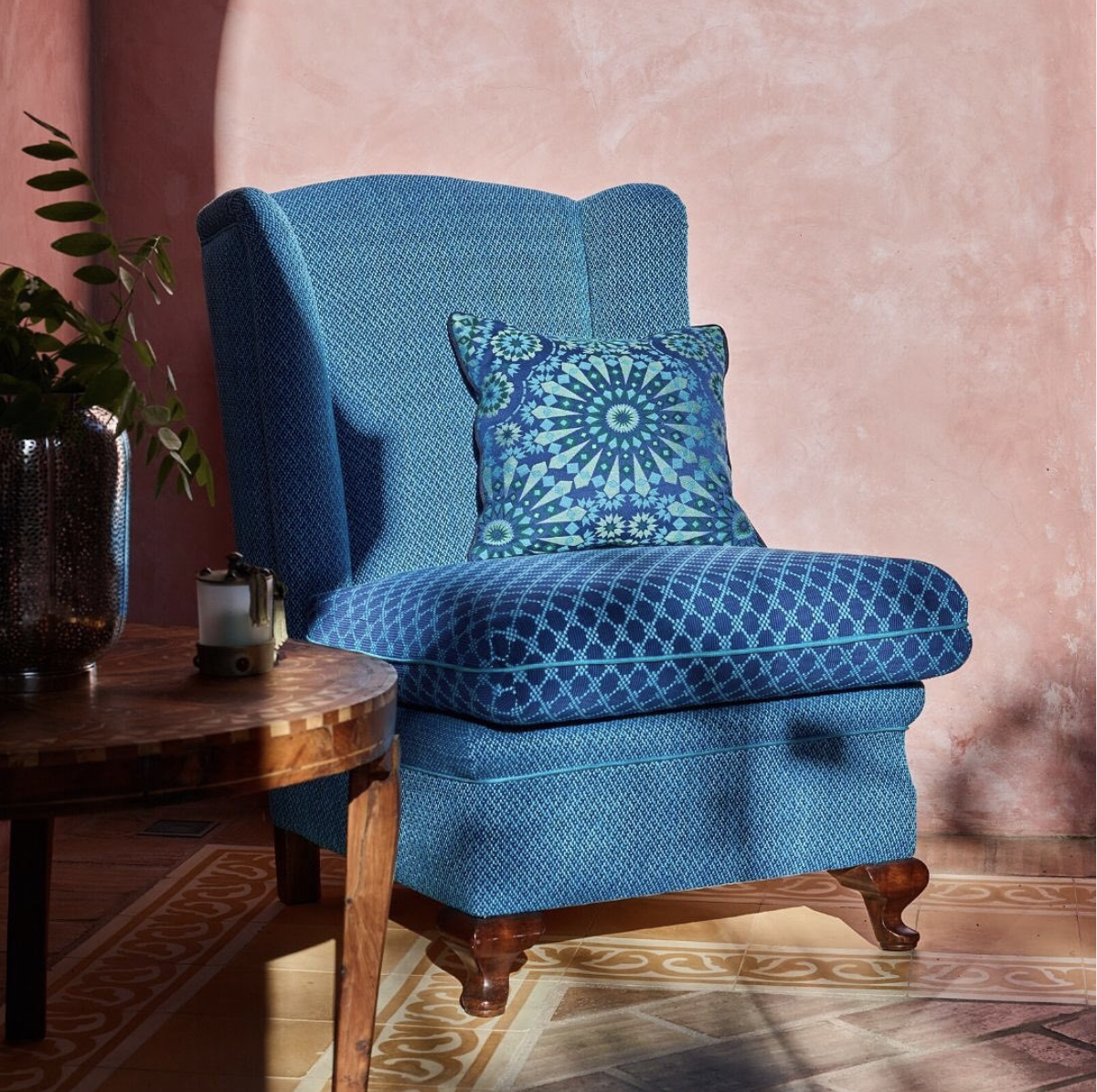 Backhausen The Mauresk collection features exotic, oriental motifs in bright and stunning colours.