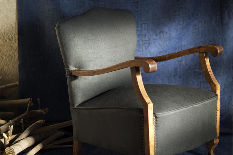 Grace de Lino - Grandfather's tv chair