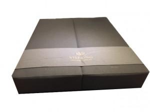 box vispring de luxe - kleur taupe - 90x200