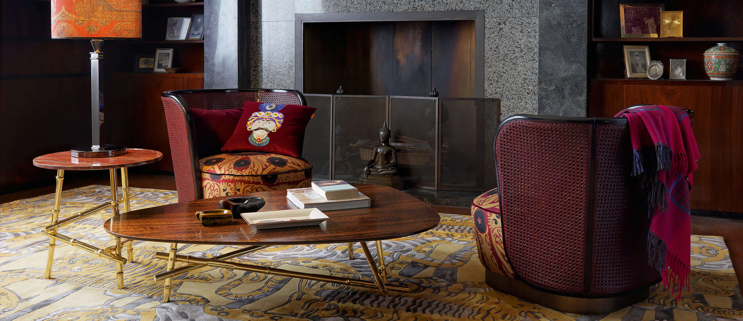 Etro Home - FOCUS ON - A series of poetic images which enhance the collection.
