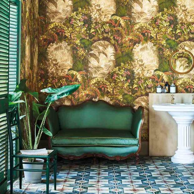 Cole & Son - Hispalis Wallpaper Seville