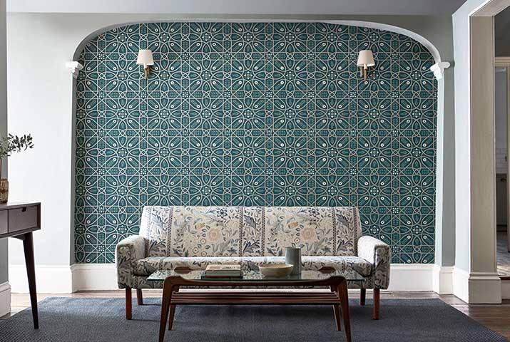 William Morris - Wallpaper Melsetter