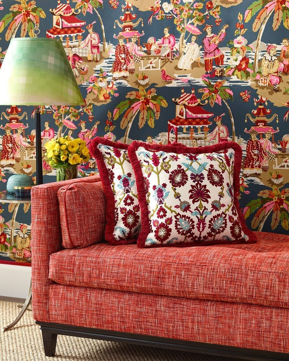 Brunschwig & Fils - Xian Wallpaper