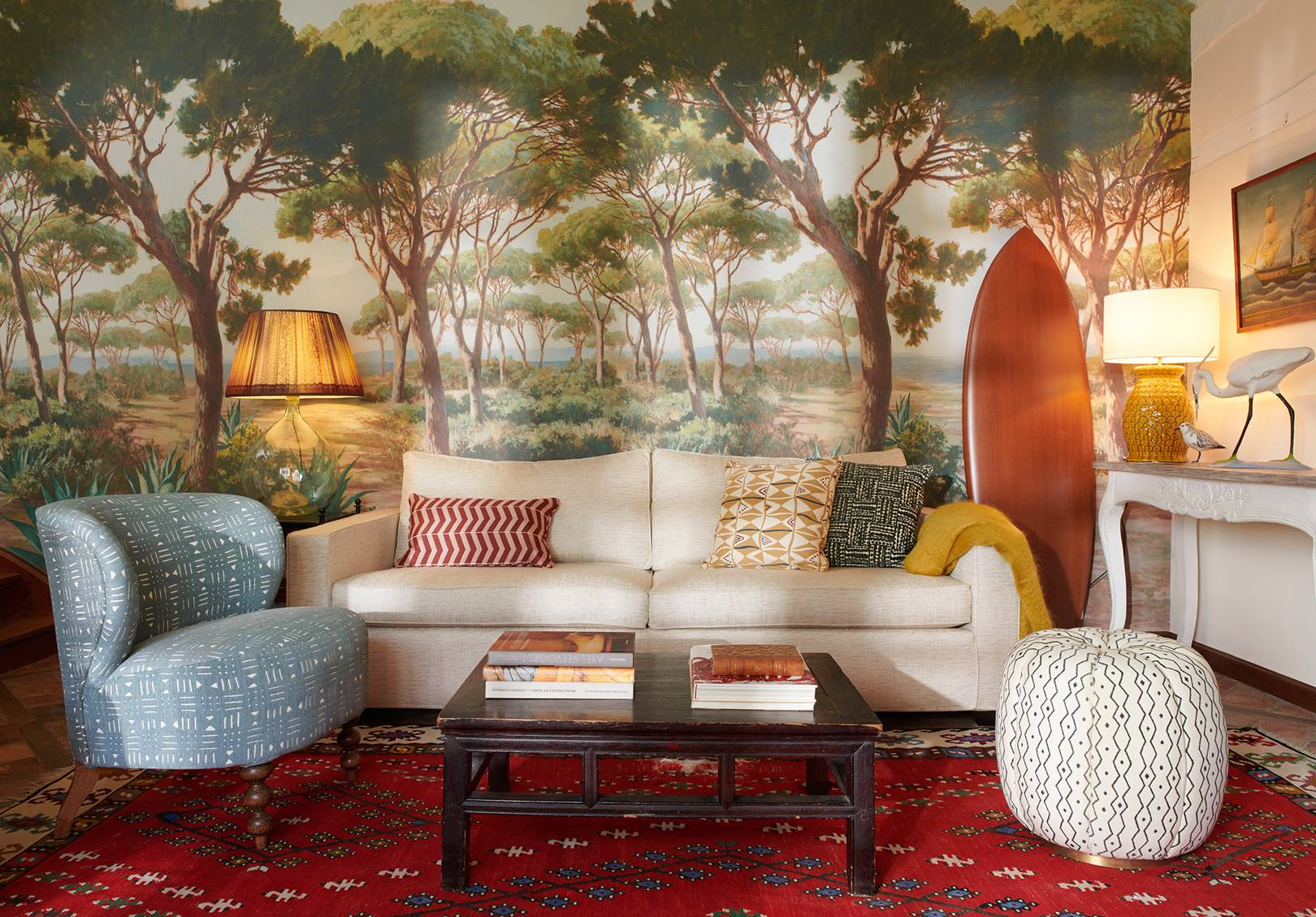 Pierre Frey livingroom