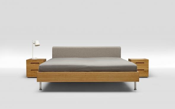 Trecompany bedden belvedere - Massief houten platform bed ...