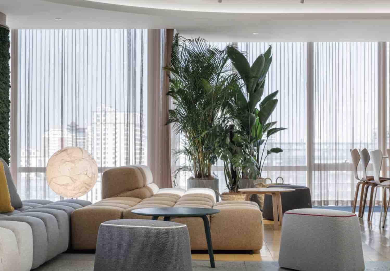 Kvadrat meubelstoffering